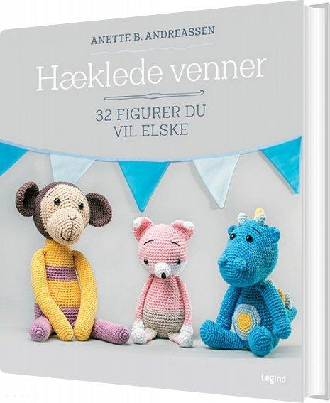 Image of   Hæklede Venner - Anette B. Andreassen - Bog