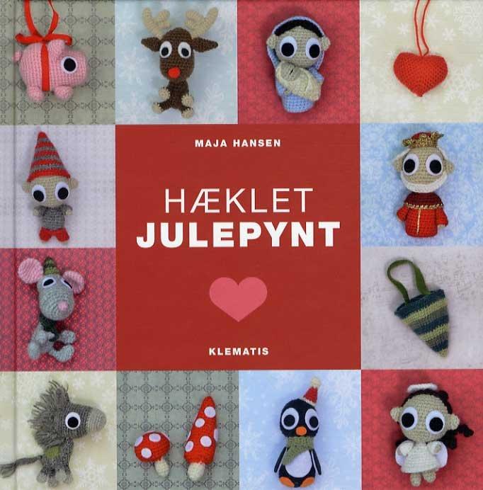 Image of   Hæklet Julepynt - Maja Hansen - Bog