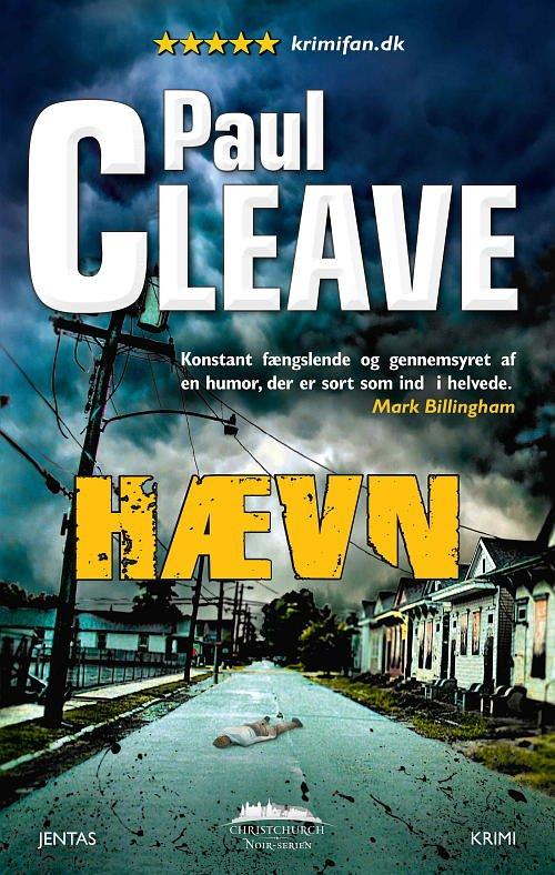 Image of   Hævn - Paul Cleave - Cd Lydbog