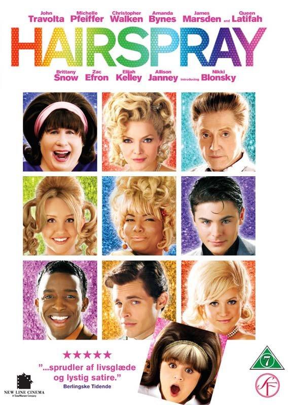 Billede af Hairspray - DVD - Film
