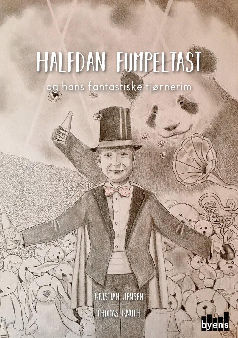 Halfdan Fumpeltast - Og Hans Fantastiske Tjørnerim - Kristian Jensen - Bog