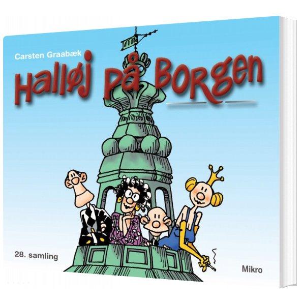 Halløj På Borgen - Carsten Graabæk - Bog