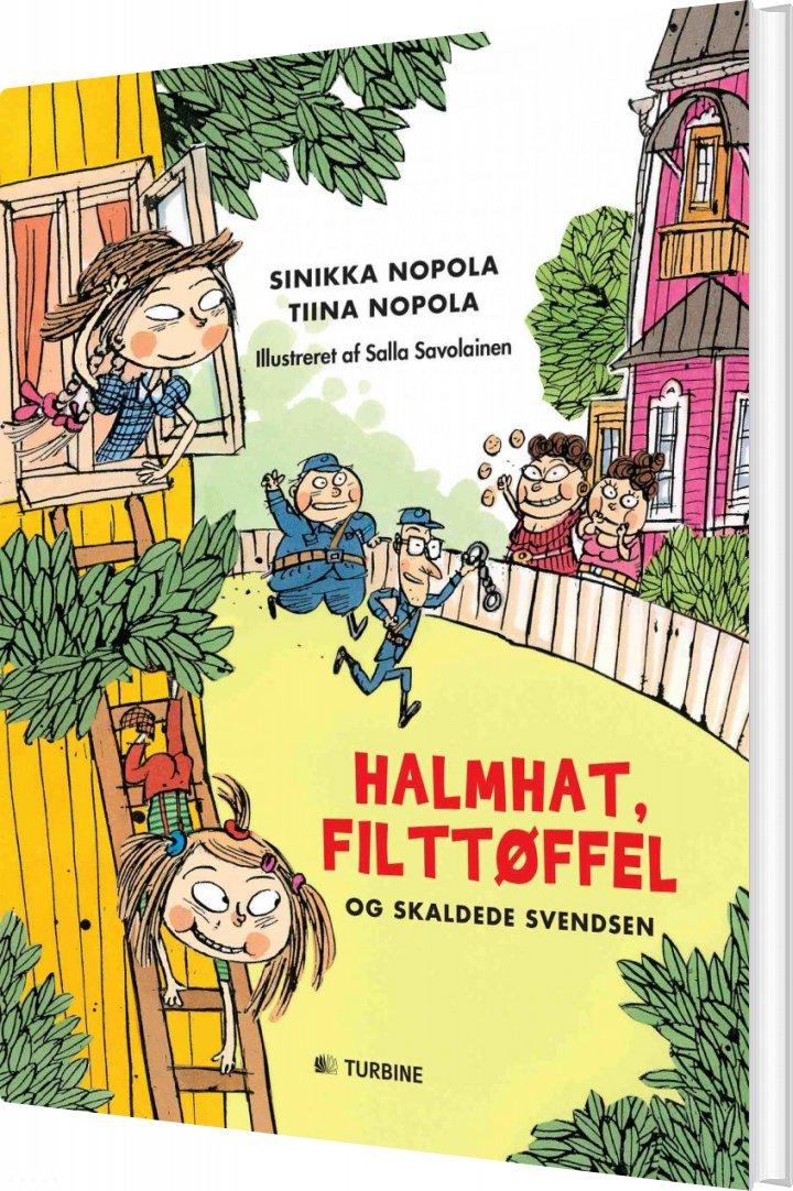 Halmhat, Filttøffel Og Skaldede Svendsen - Tiina Nopola - Bog