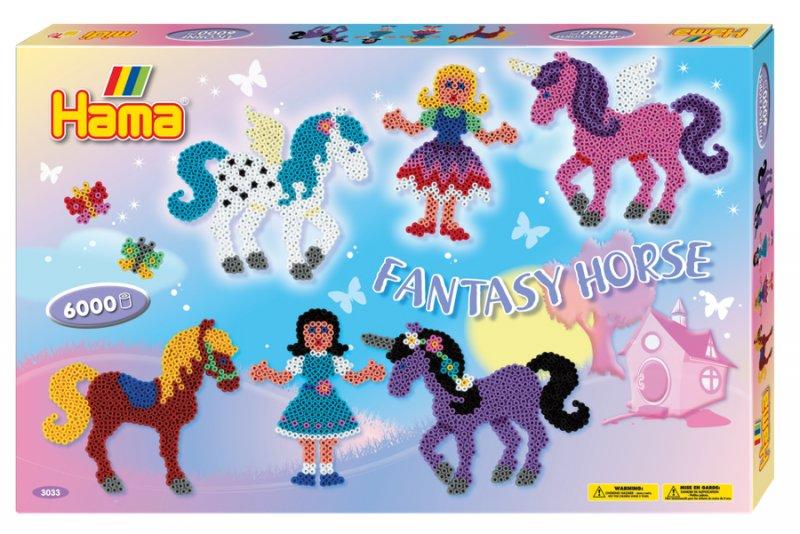 Hama Gaveæske Med Midi Perler - Fantasy Horse