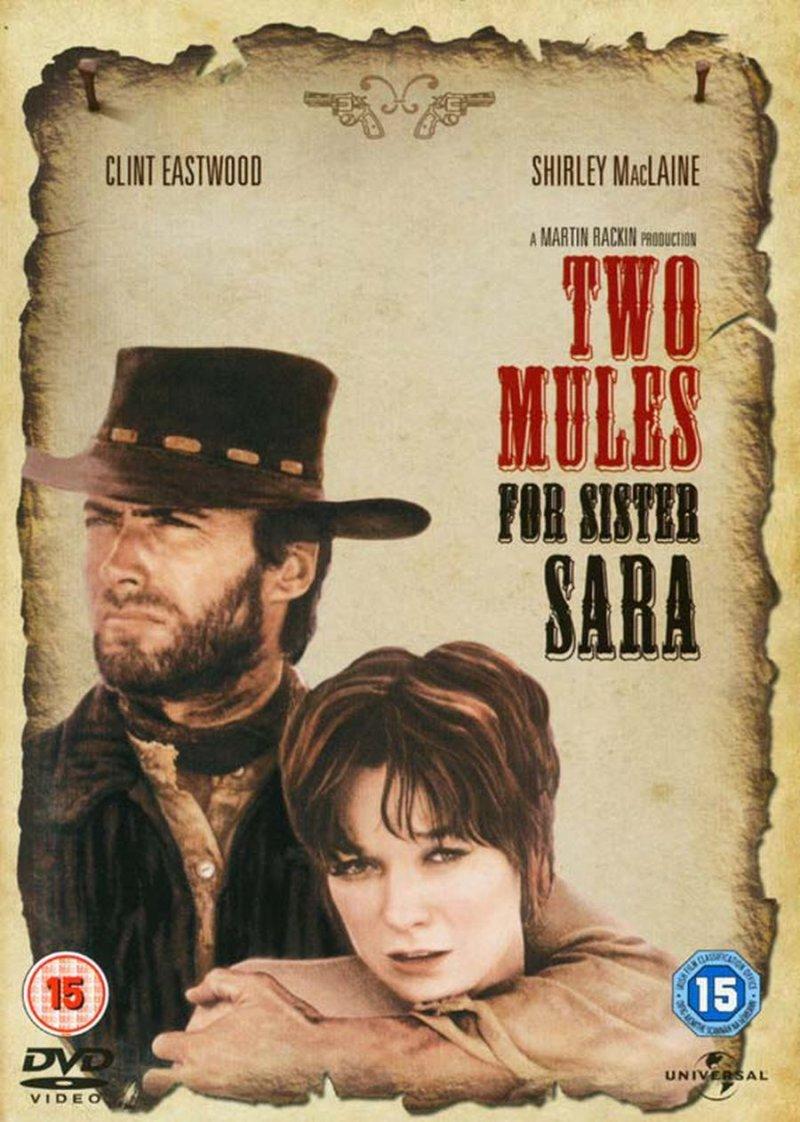 Image of   Han Kom, Han Så, Han Skød / Two Mules For Sister Sara - DVD - Film