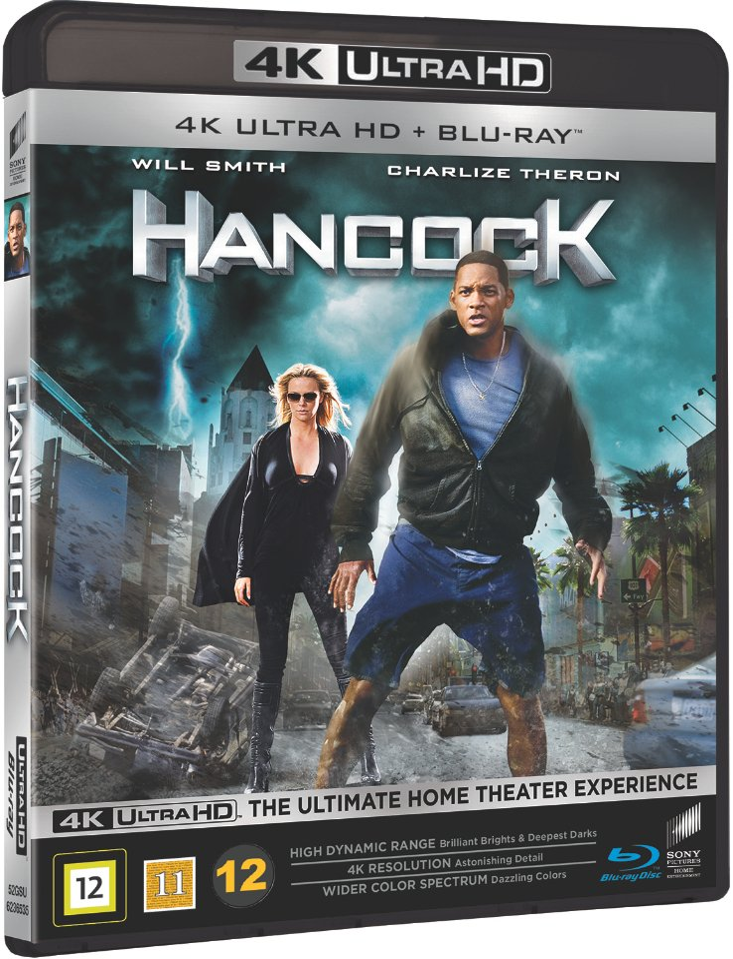 Image of   Hancock - 4K Blu-Ray