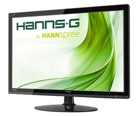 "Hanns G 27"" Skærm - Hl274hpb - Fuld Hd 2ms 60hz"