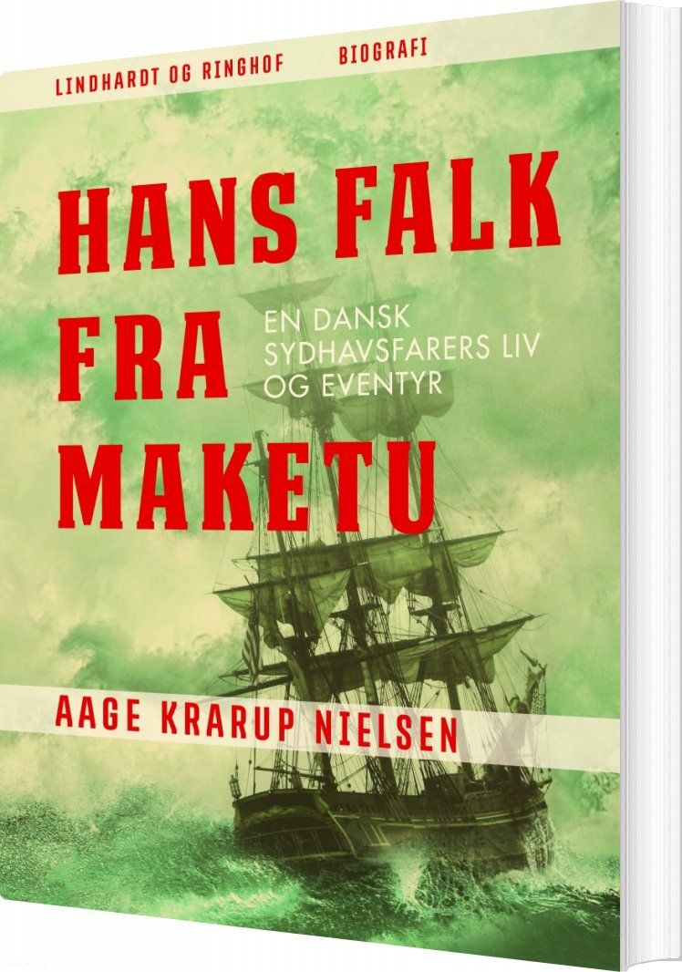 Image of   Hans Falk Fra Maketu - Aage Krarup Nielsen - Bog