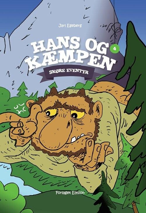 Image of   Hans Og Kæmpen - Jarl Egeberg - Bog