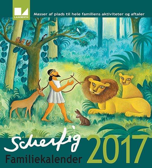 Image of   Hans Scherfig Familiekalender 2017