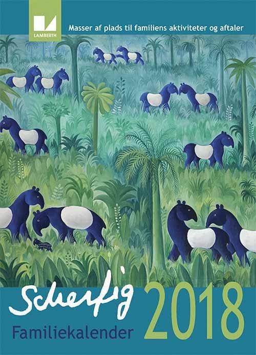 Image of   Hans Scherfig Kalender 2018
