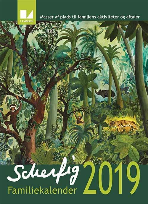 Image of   Hans Scherfig Familiekalender 2019