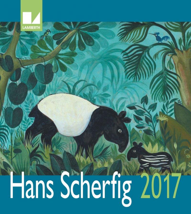 Image of   Hans Scherfig Kalender 2017