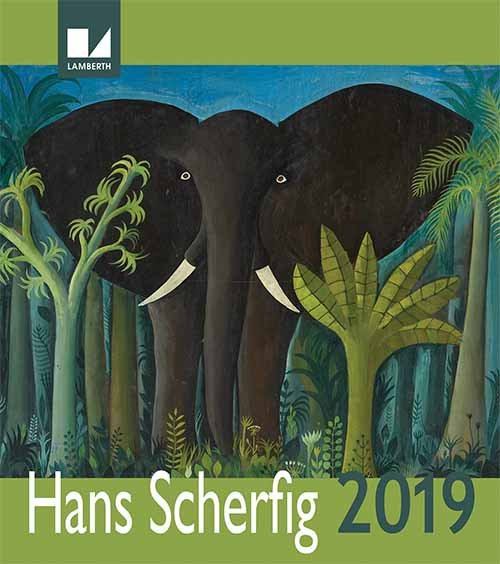 Image of   Hans Scherfig Kalender 2019
