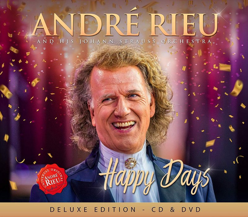 Image of   André & The Johann Strauss Orchestra - Happy Days - Deluxe Edition - CD
