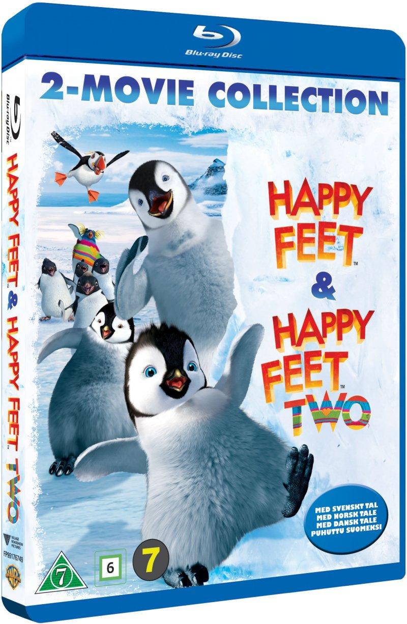 Billede af Happy Feet // Happy Feet 2 - Blu-Ray