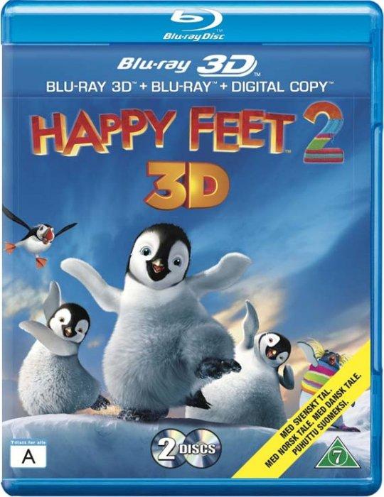 Billede af Happy Feet 2 - 3D Blu-Ray