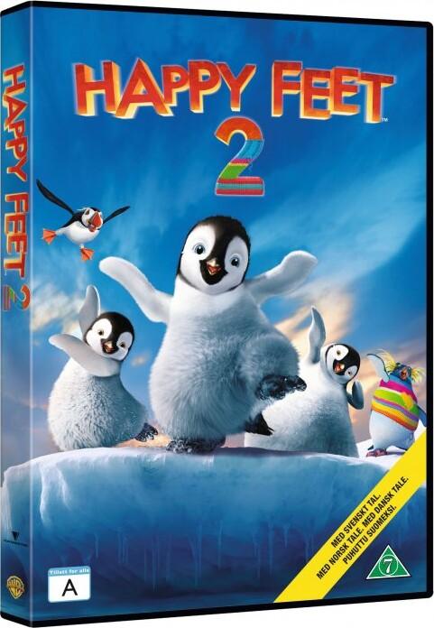Billede af Happy Feet 2 - DVD - Film