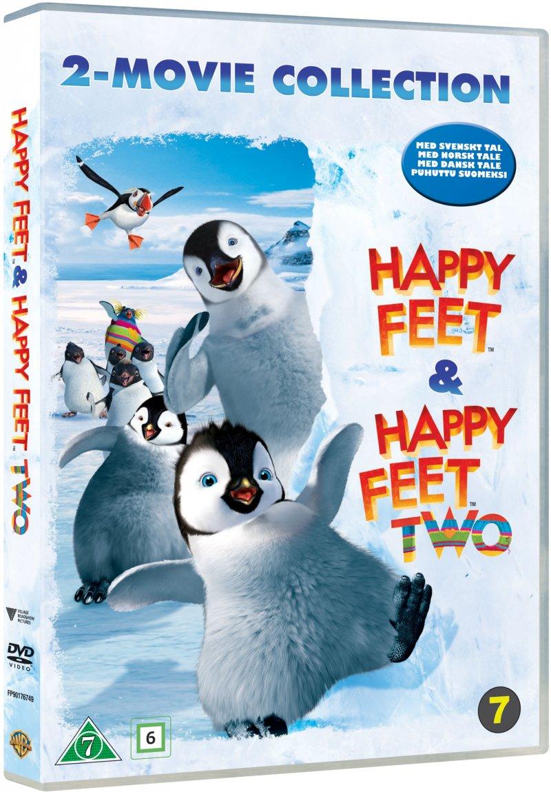 Billede af Happy Feet // Happy Feet 2 - DVD - Film