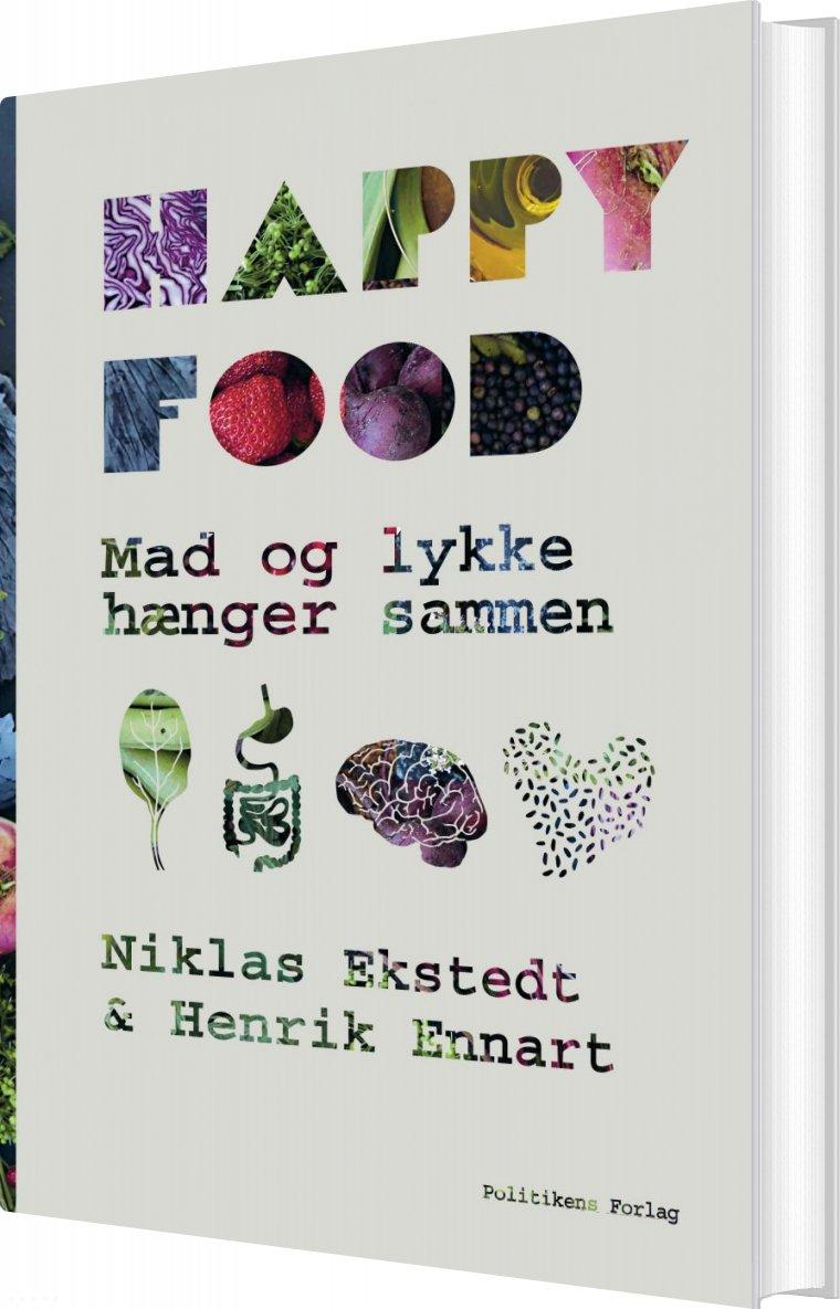Billede af Happy Food - Niklas Ekstadt - Bog