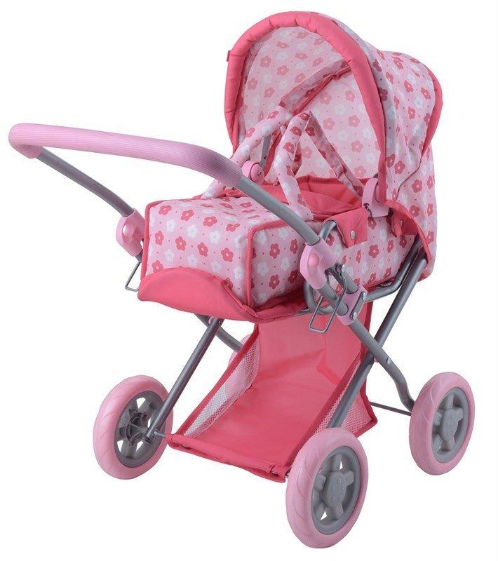 Image of Lille Pink Dukkevogn Fra Happy Friend