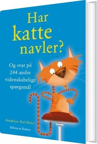 Image of   Har Katte Navler? - Paul Heiney - Bog