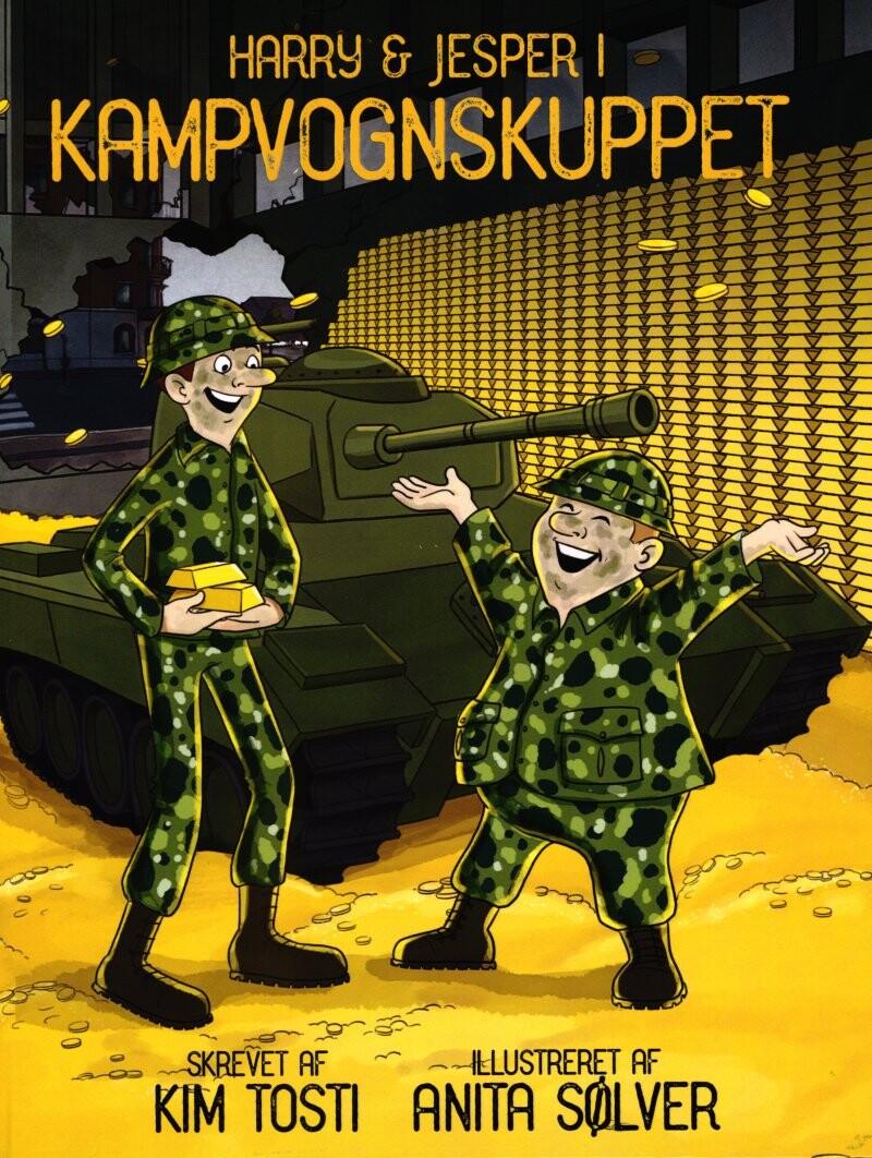 Image of   Harry Og Jesper I Kampvognskuppet - Kim Tosti - Bog