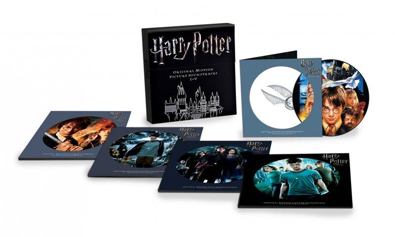 Image of   Harry Potter 1-5 Original Motion Picture Soundtrack - Vinyl / LP