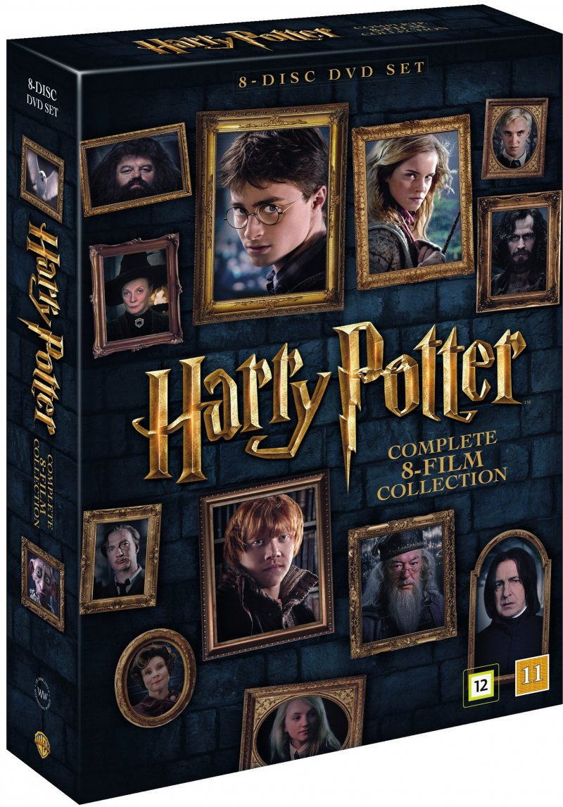 harry potter dvd tilbud