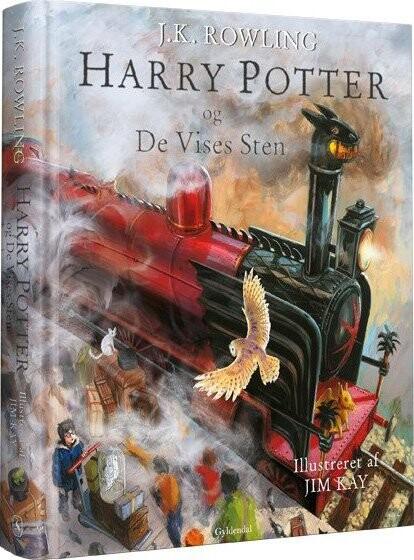 Harry Potter 1 - Illustreret Udgave - Og De Vises Sten - J. K. Rowling - Bog