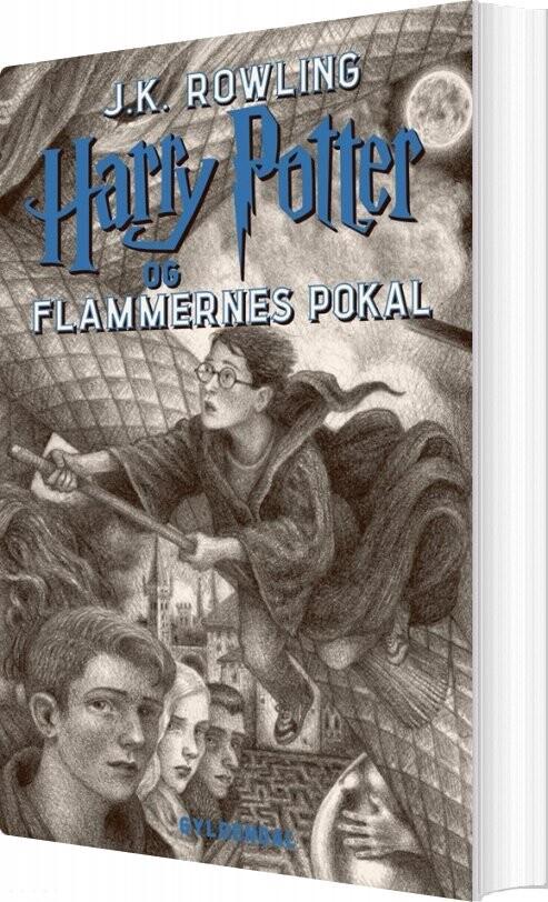 Harry Potter 4 - Harry Potter Og Flammernes Pokal - J. K. Rowling - Bog
