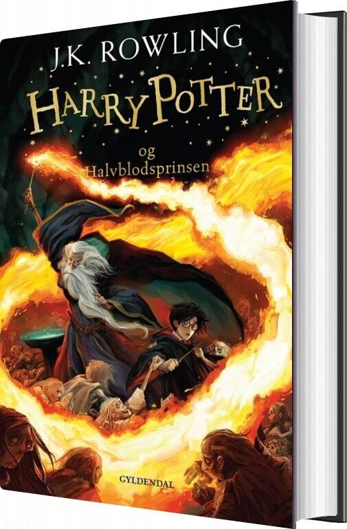 Harry Potter 6 - Harry Potter Og Halvblodsprinsen - J. K. Rowling - Bog