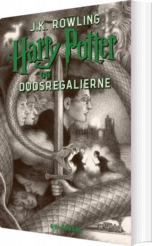 Harry Potter 7 - Harry Potter Og Dødsregalierne - J. K. Rowling - Bog