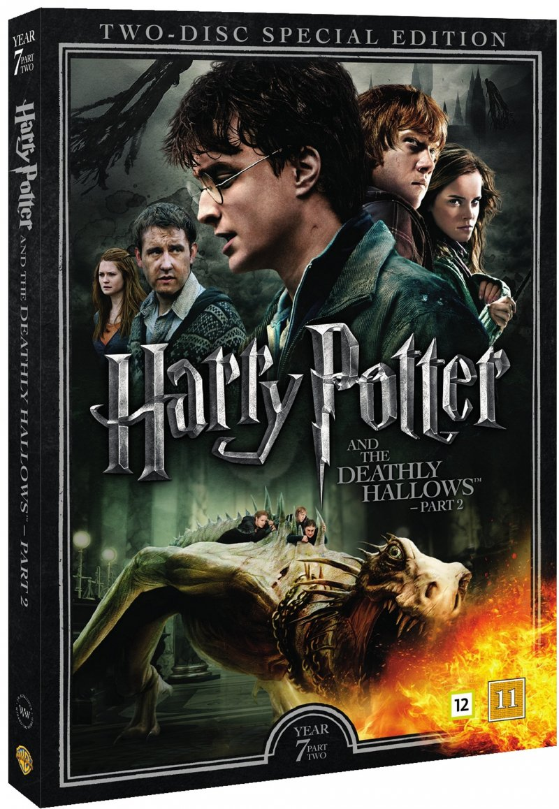harry potter og halvblodsprinsen dvd