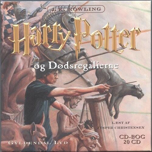 harry potter og fønixordenen lydbog