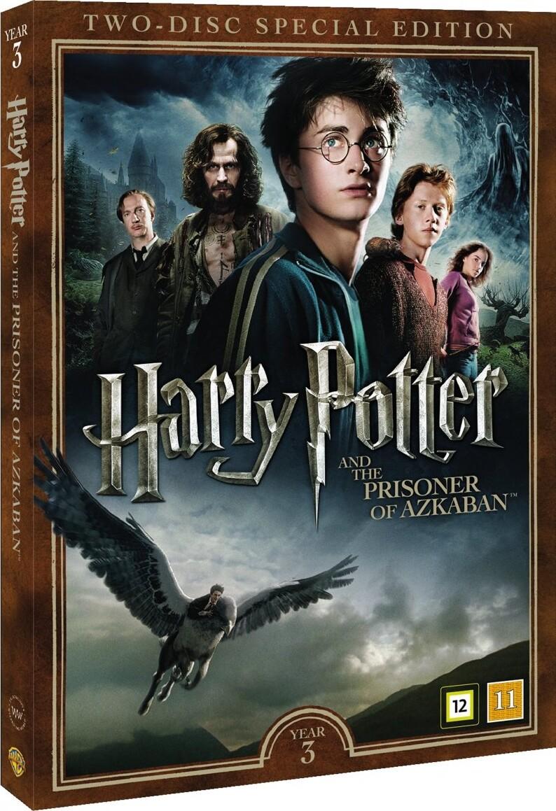Dejlig Harry Potter 3 - Og Fangen Fra Azkaban + Dokumentar DVD Film YJ-06