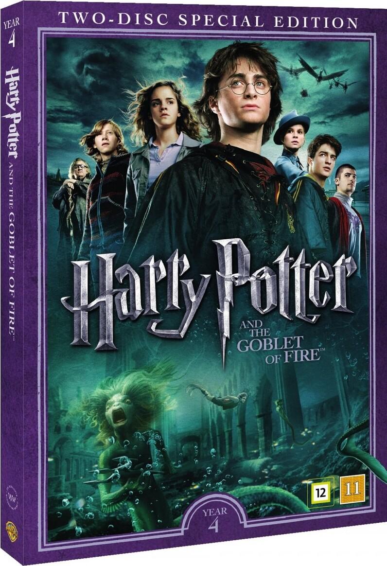 Dejlig Harry Potter Og Flammernes Pokal / Harry Potter And The Goblet Of IO-84