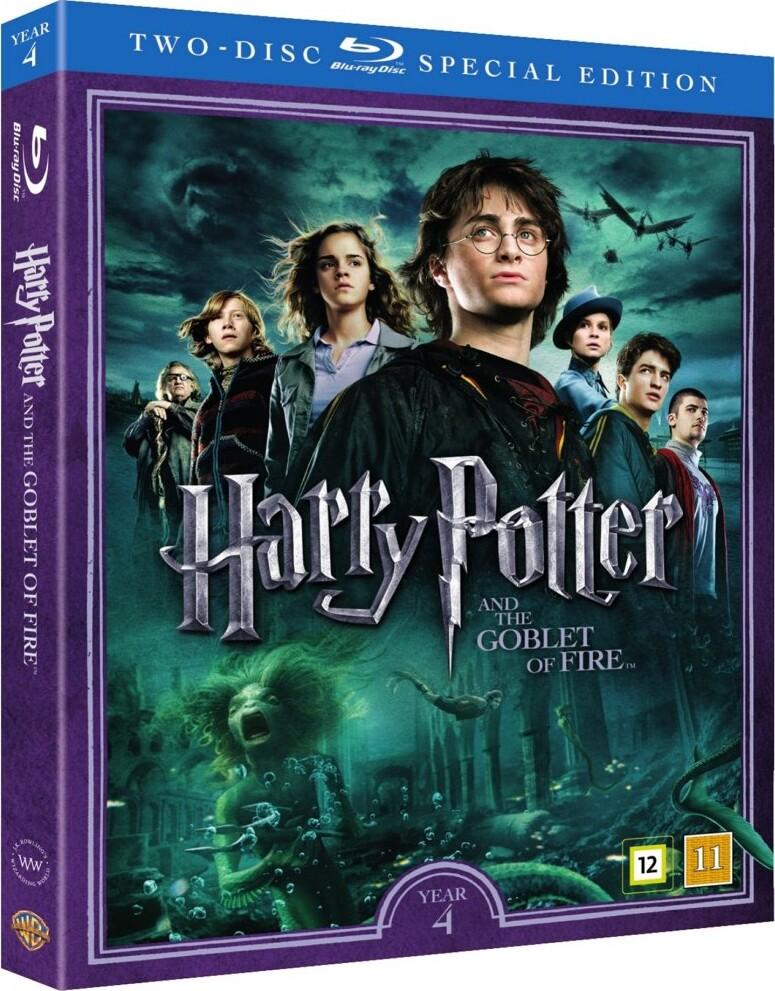 Image of   Harry Potter Og Flammernes Pokal / Harry Potter And The Goblet Of Fire + Dokumentar - Blu-Ray