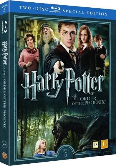 Image of   Harry Potter Og Fønixordenen / Harry Potter And The Order Of The Phoenix + Dokumentar - Blu-Ray