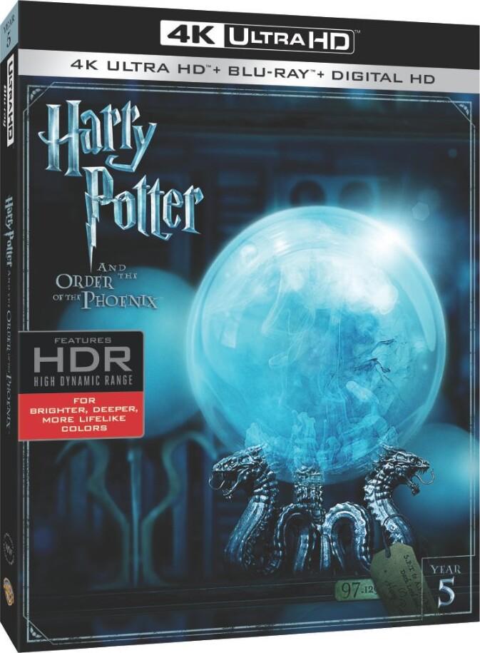 Billede af Harry Potter Og Fønixordenen / Harry Potter And The Order Of The Phoenix - 4K Blu-Ray