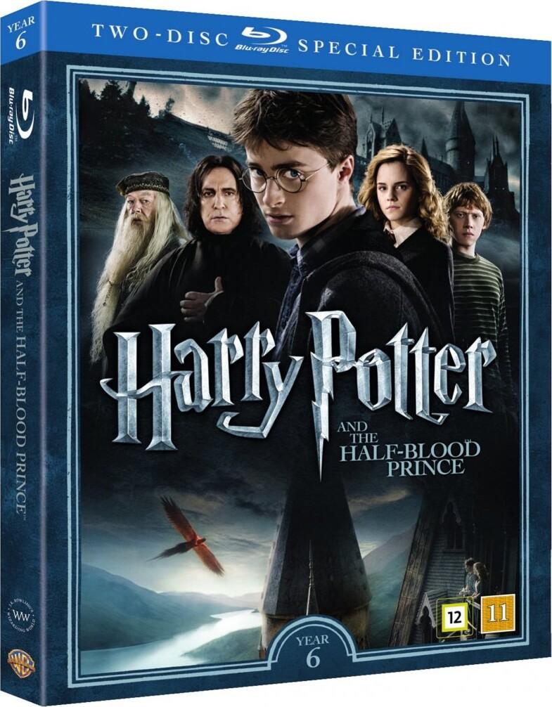 Image of   Harry Potter Og Halvblodsprinsen / Harry Potter And The Half-blood Prince + Dokumentar - Blu-Ray