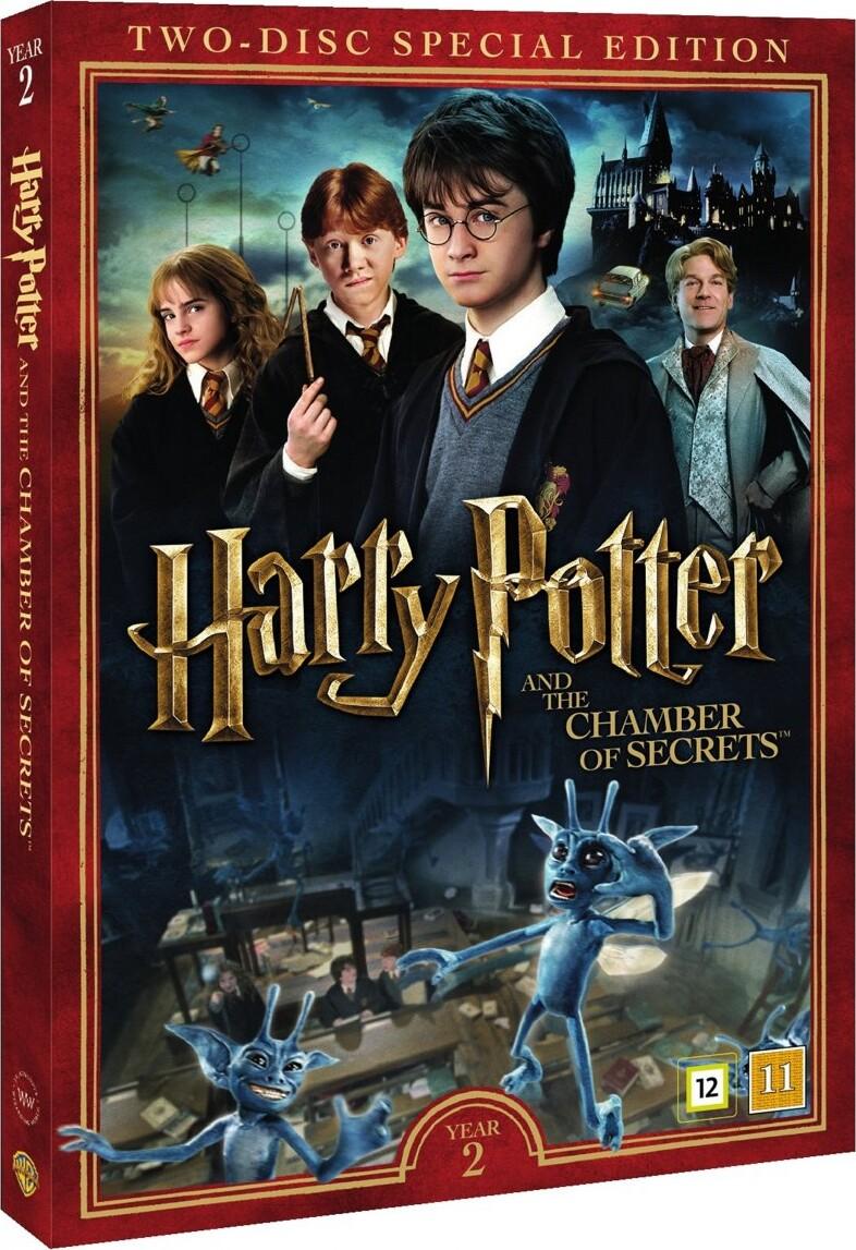 Efterstræbte Harry Potter 2 Og Hemmelighedernes Kammer / And The Chamber Of IY-09