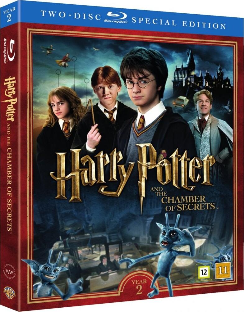 Velsete Harry Potter 2 Og Hemmelighedernes Kammer / And The Chamber Of VS-36
