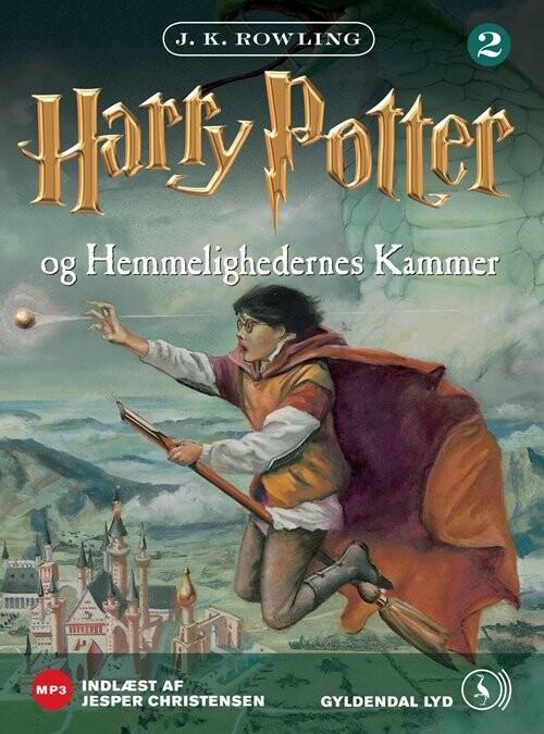 Harry Potter 2 - Harry Potter Og Hemmelighedernes Kammer - J. K. Rowling - Cd Lydbog