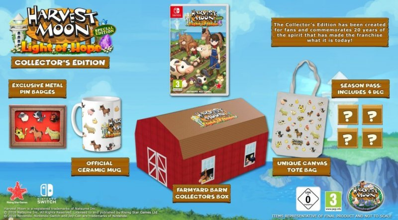 Image of   Harvest Moon: Light Of Hope Collector's Edition - Nintendo Switch