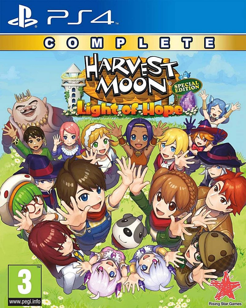 Image of   Harvest Moon - Light Of Hope - Complete - Special Edition - PS4