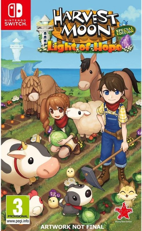 Image of   Harvest Moon: Light Of Hope - Nintendo Switch