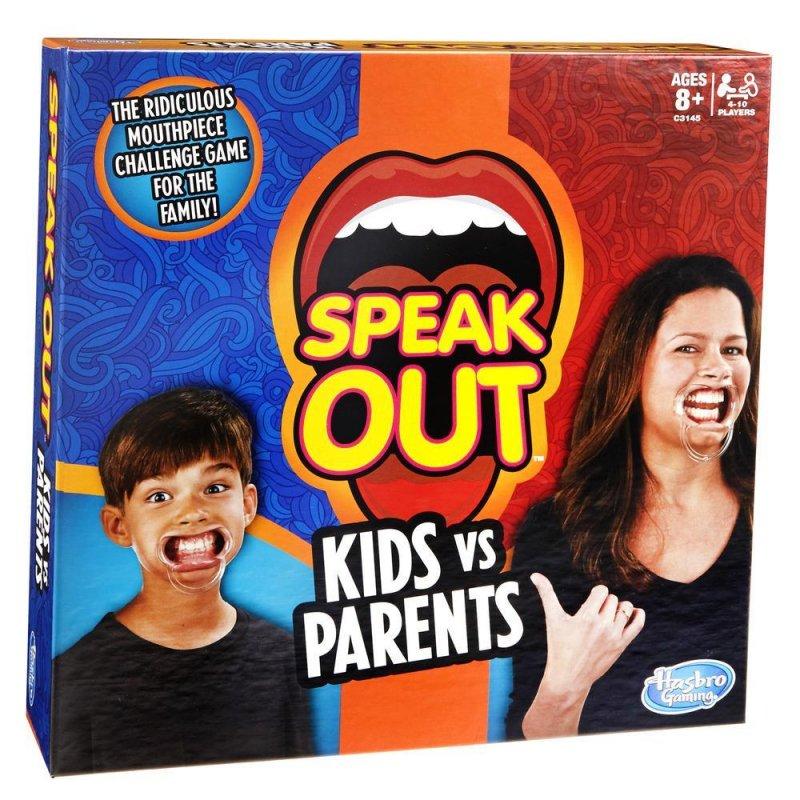 Image of   Speak Out Spil - Børn Mod Voksne - Dk