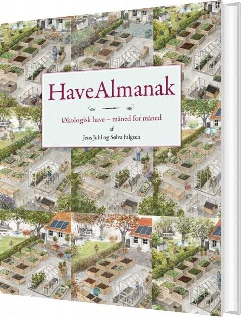 Billede af Havealmanak - Jens Juhl - Bog
