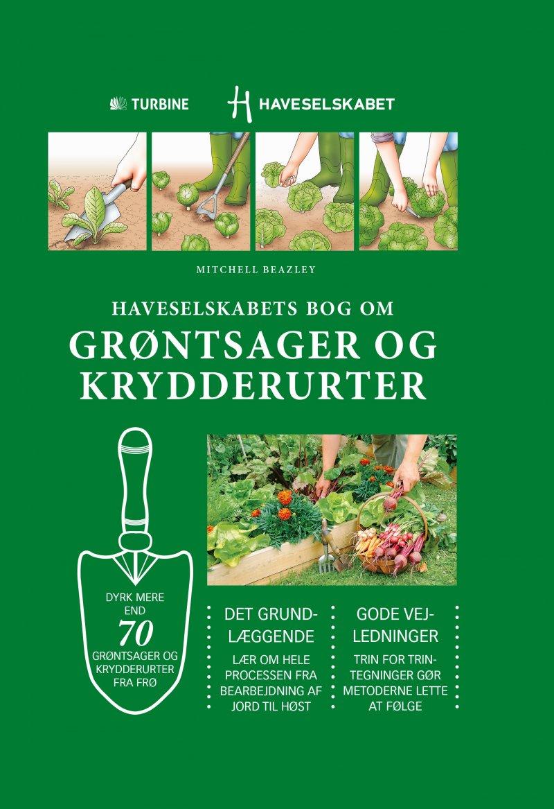 Image of   Haveselskabets Bog Om Grøntsager Og Krydderurter - Guy Barter - Bog